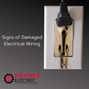 electrical wire damage